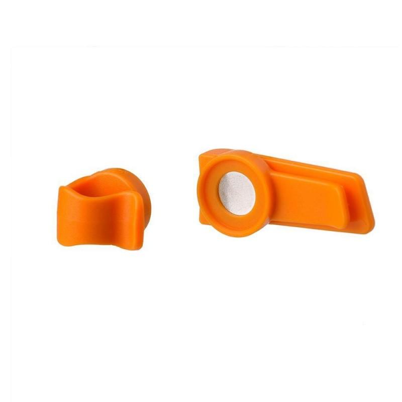 Source Magnetický klip Oranžová