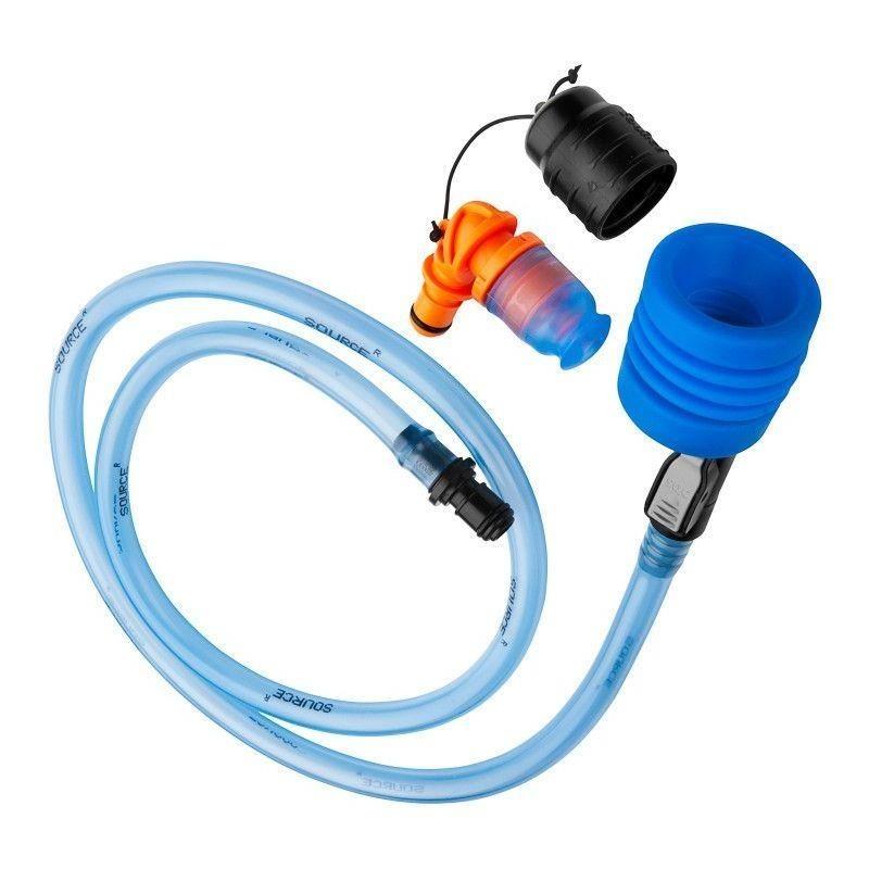 Sada hadičky a ventilu Source UTA - QMT Černá