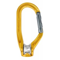 Pulley carabiner Rollclip