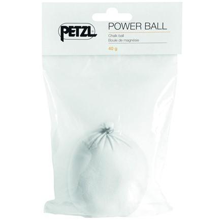 Magnéziová koule Petzl Power ball Bílá