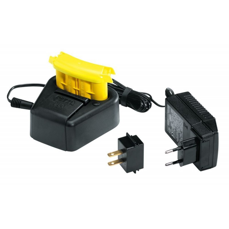 Akumulátor s nabíječkou Petzl Accu duo+Duo charger Černá