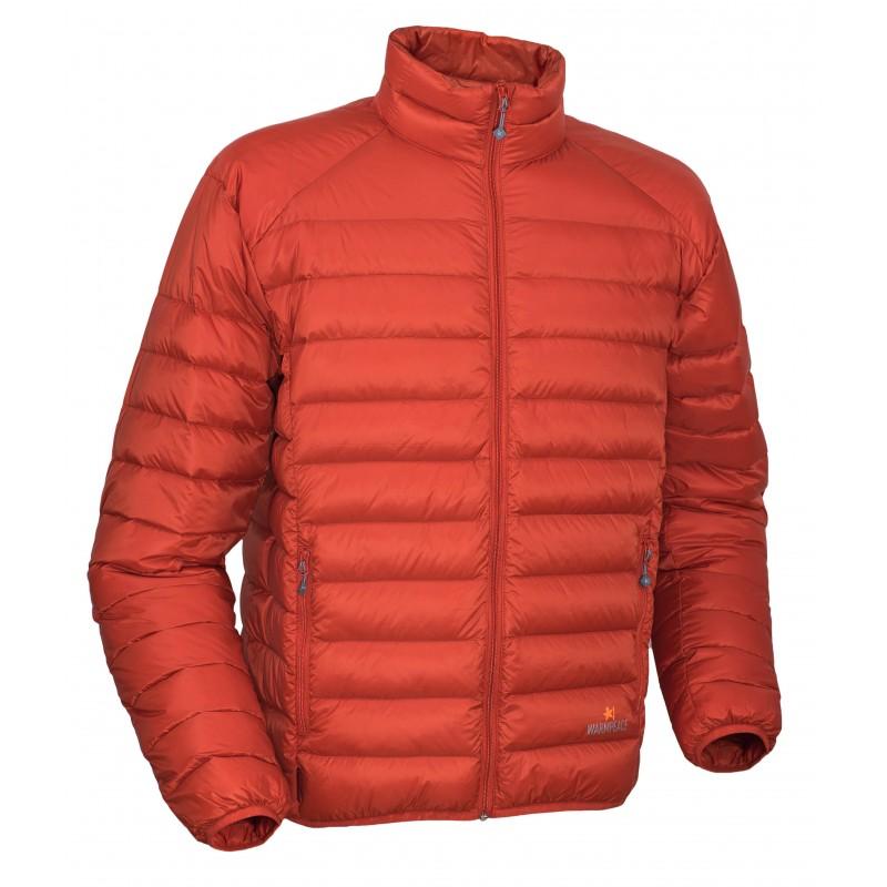 Pánská péřová bunda Warmpeace Drake Mandarine