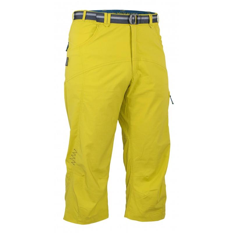 Pánské 3/4 kalhoty Warmpeace Plywood Mustard