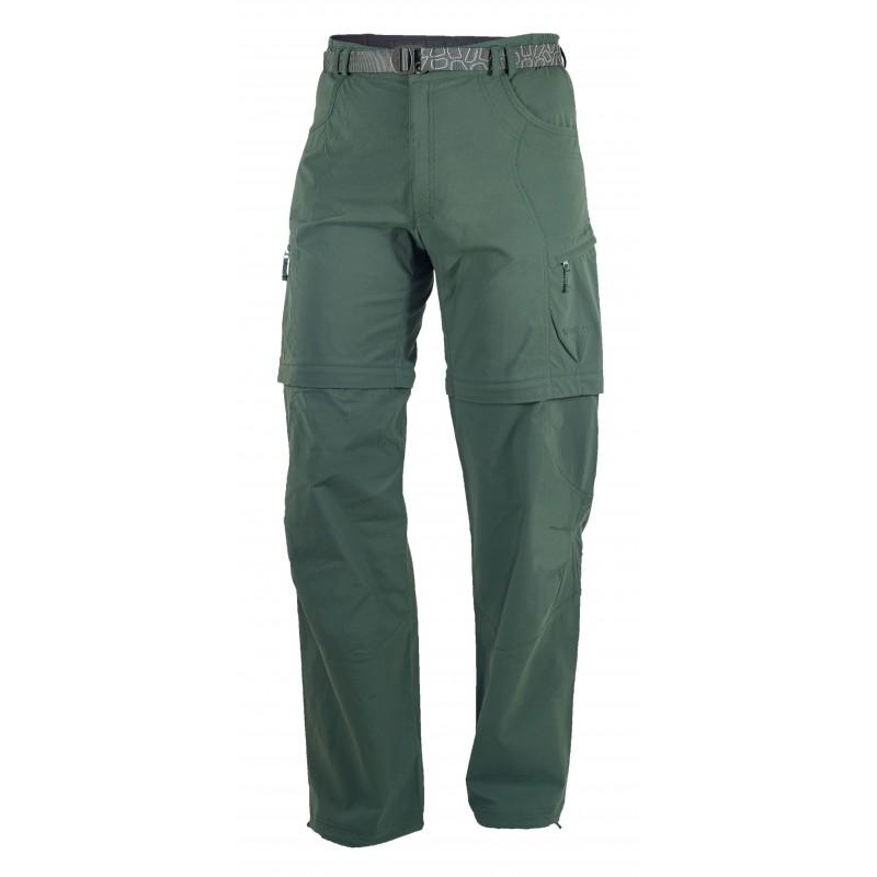 Pánské kalhoty Warmpeace Fording zip-off Forrest