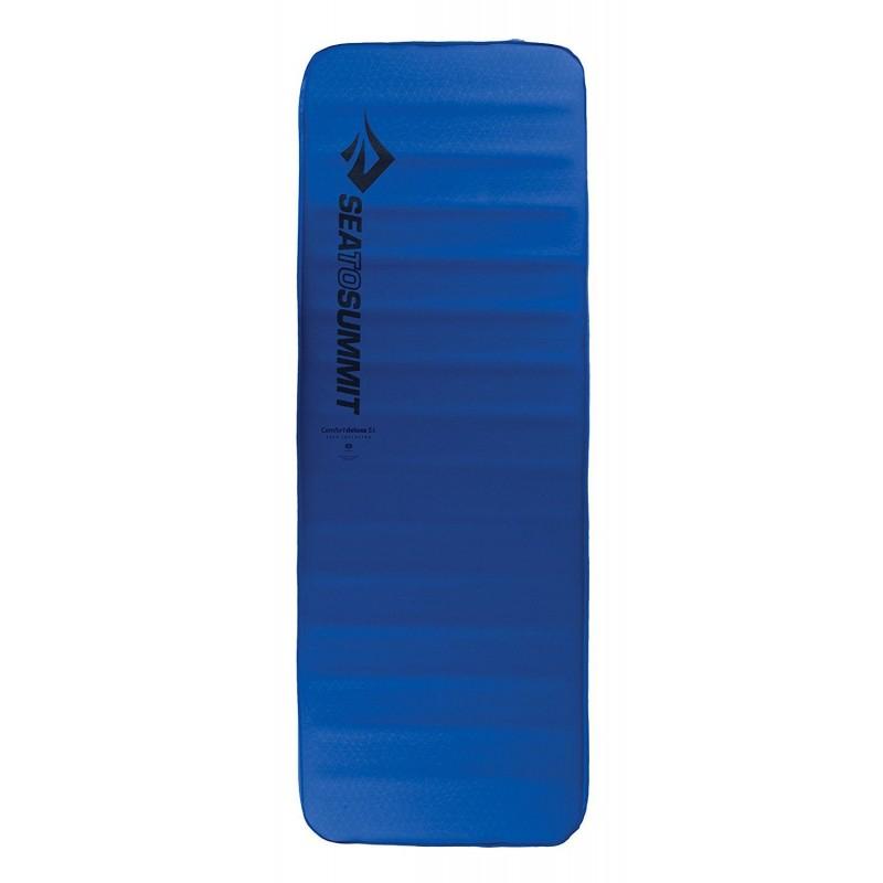 Samonafukovací karimatka SeaToSummit Comfort Deluxe Dark Blue