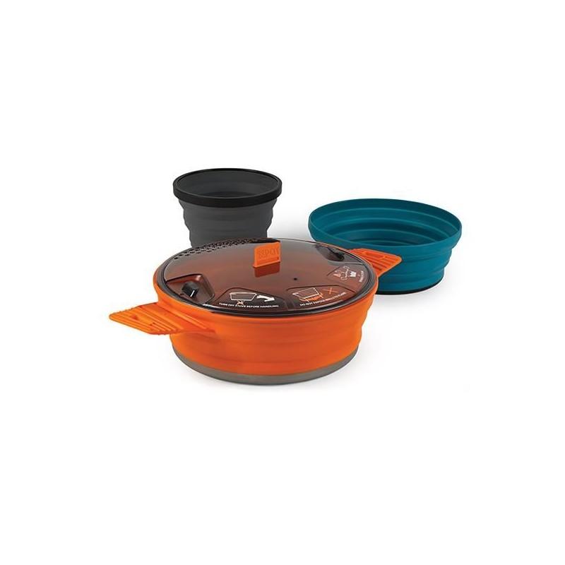 Set nádobí SeaToSummit X-Set Oranžová
