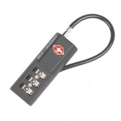 Combo cable TSA lock