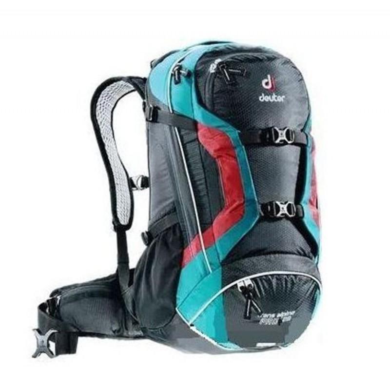 Cyklistický batoh Deuter Trans Alpine Pro 28 Petrol