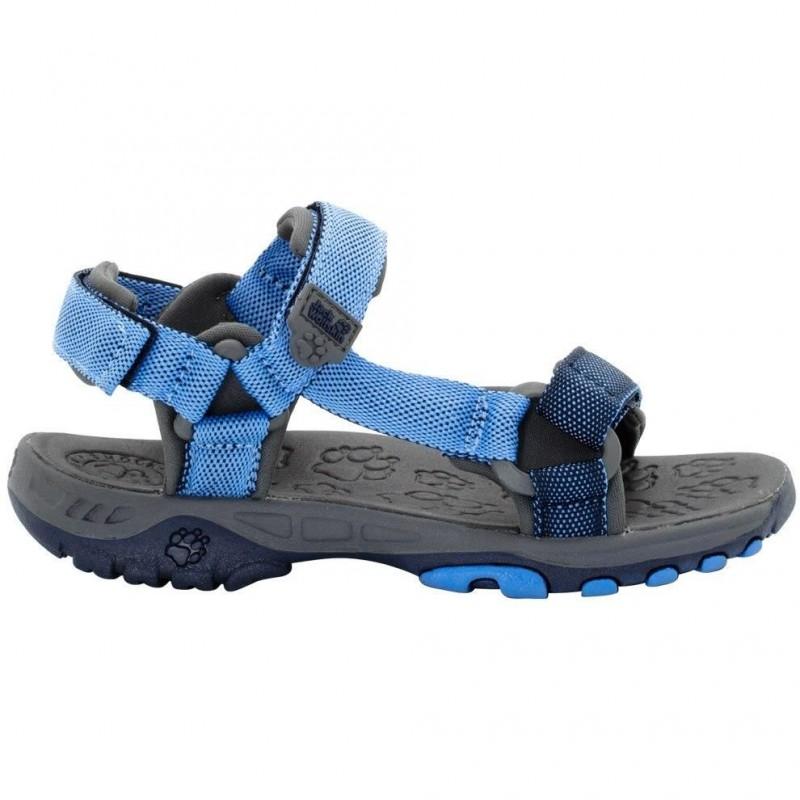 Dětské sandále Jack Wolfskin Seven seas Wave blue