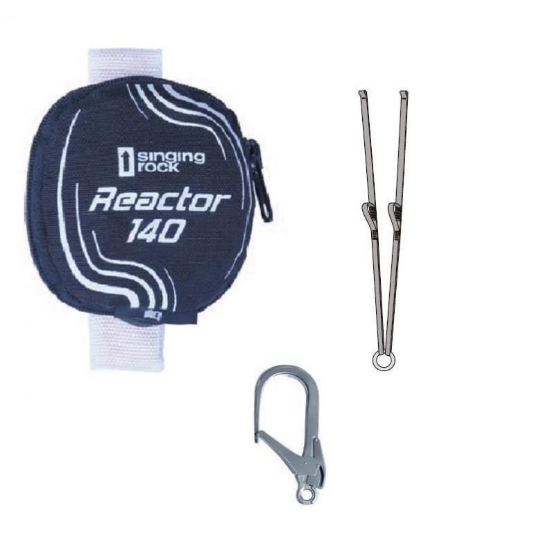 Tlumič pádu Singing Rock Reactor 140 Y Eye Černá