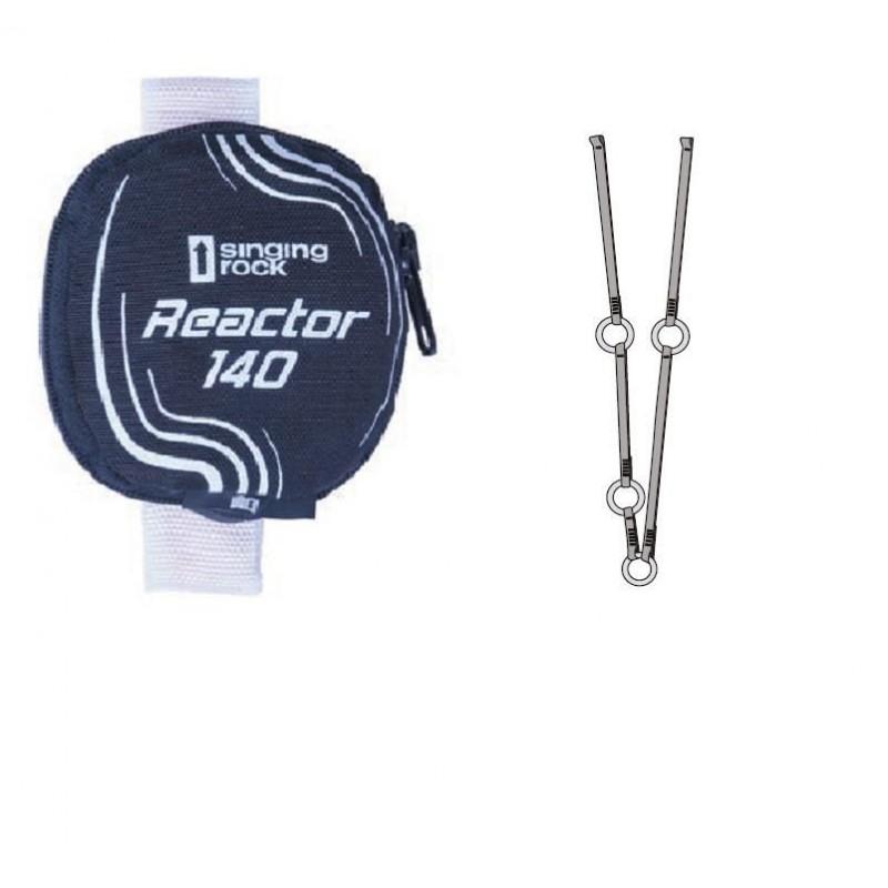 Tlumič pádu Singing Rock Reactor 140 Y Ring Černá
