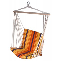 Outdoor hammock for sitting