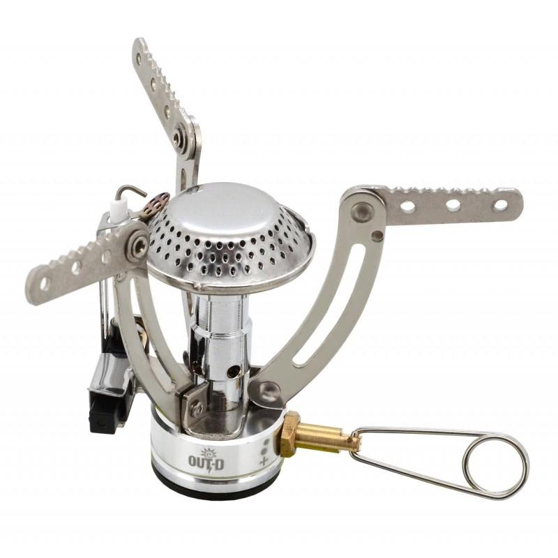 Plynový vařič Cattara Butan Stříbrná