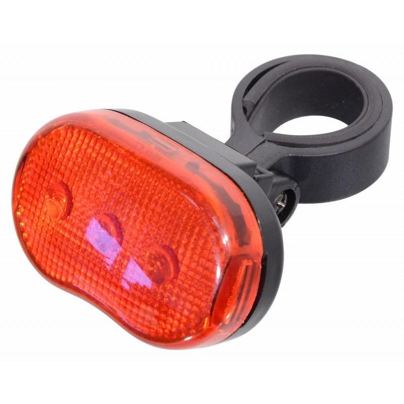 Cyklosvětlo Cattara 3 LED Červená