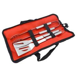 Grill tools in textil bag