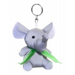 Reflective pendant 3D Elephant