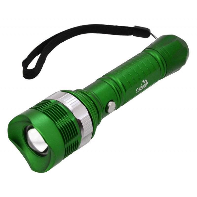 Ruční svítilna Cattara ZOOM 3 Zelená