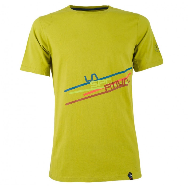 Pánské tričko La Sportiva Stripe 2.0 Lemonade