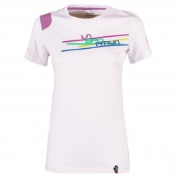 Women T-shirt Stripe 2-0