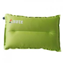 Shaped selfinflating pillow