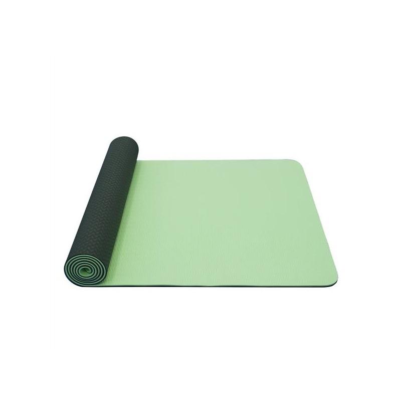 Yoga mat Yate TPE Zelená