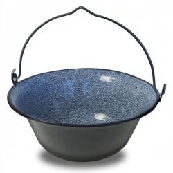 Enamel cauldron