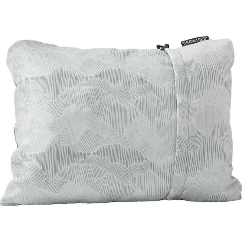 Cestovní polštář Thermarest Compressible pillow Šedá