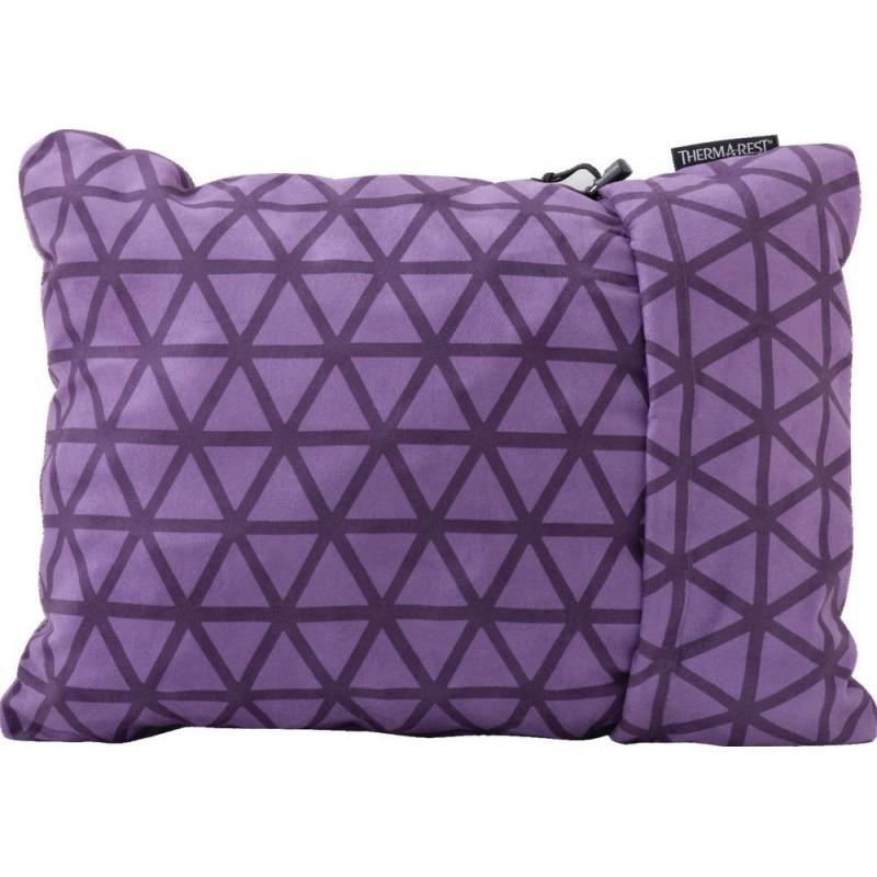 Cestovní polštář Thermarest Compressible pillow Amethyst