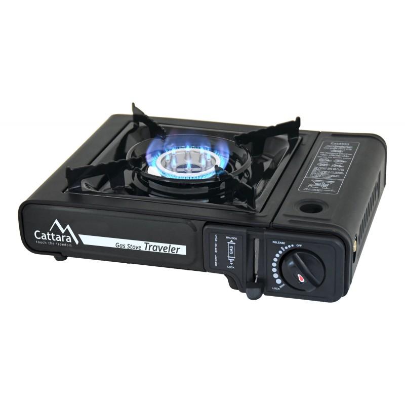Gas cooker Cattara Traveler Černá