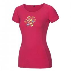 Woman's T-shirt Bamboo meadow