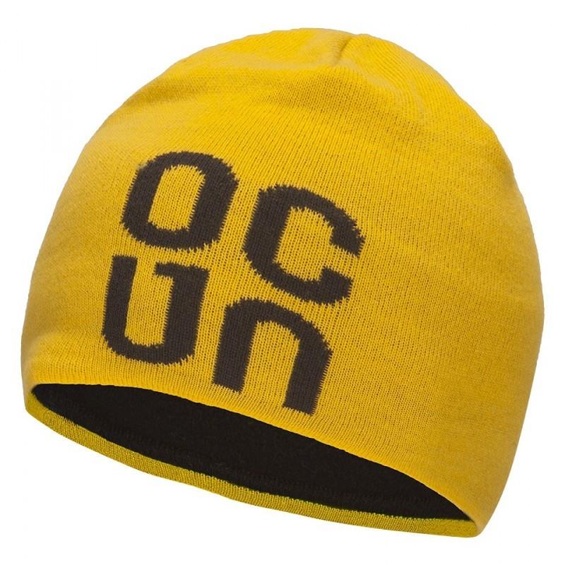 Čepice zimní Ocun Logo Žlutá