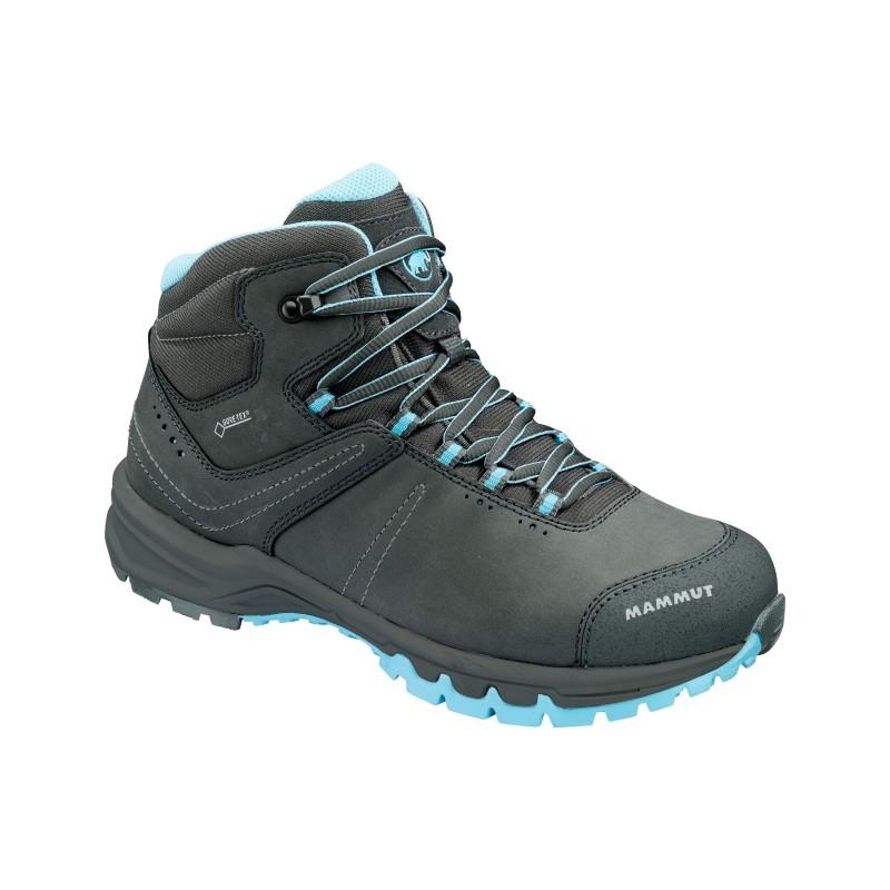Dámské trekingové boty Mammut Nova III Mid GTX Graphite 3db45048086