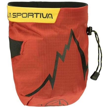 Pytlík na magnezium La Sportiva Laspo Červená