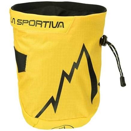 Pytlík na magnezium La Sportiva Laspo Žlutá