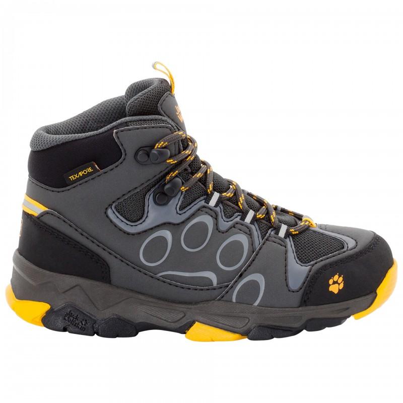 Dětské turistické boty Jack Wolfskin Attack 2 Burly Yellow