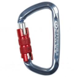 Carabiner D-shape triact lock