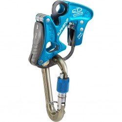 Belay and rappel device...
