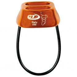 Belay and rappel device Doble