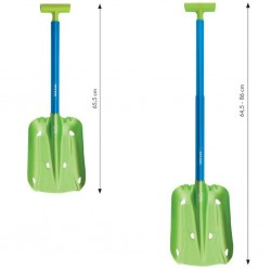 Telescopic shovel Snow blade