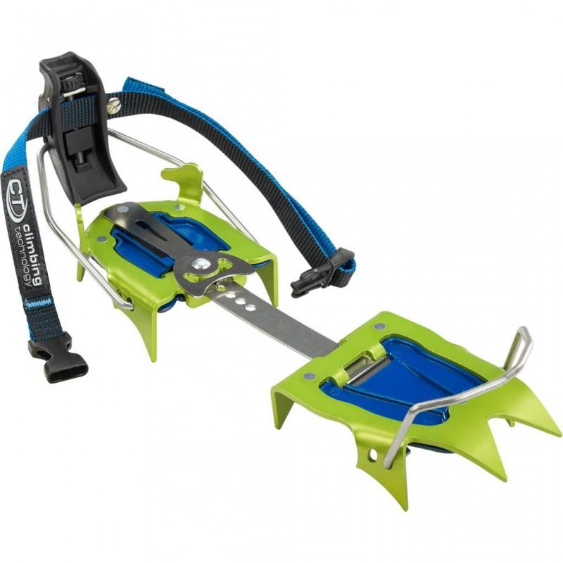 Mačky Climbing Technology Snow flex Zelená
