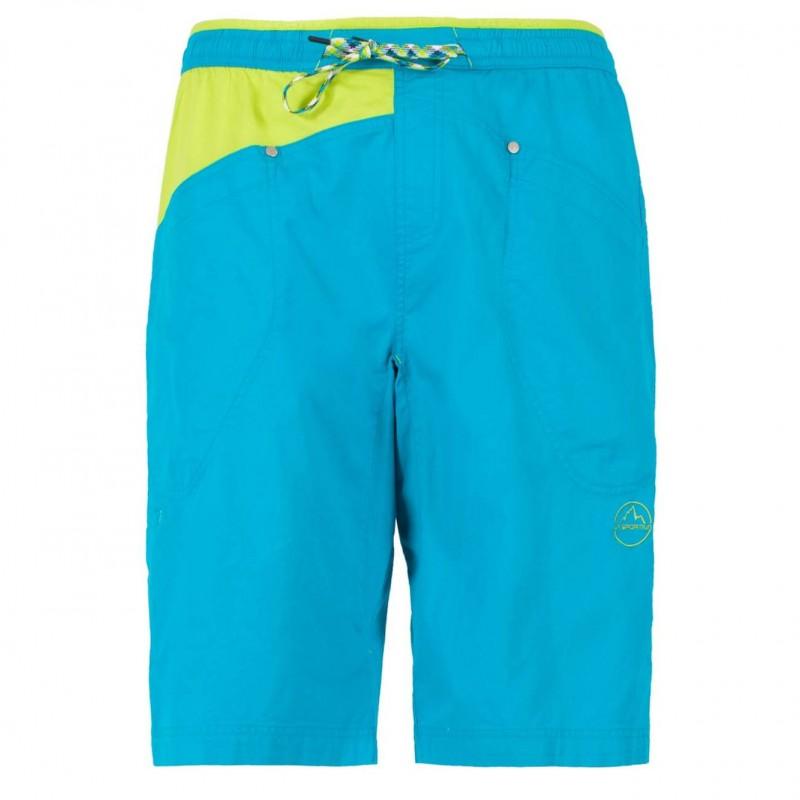 Pánské lezecké šortky La Sportiva Bleauser Tropic Blue
