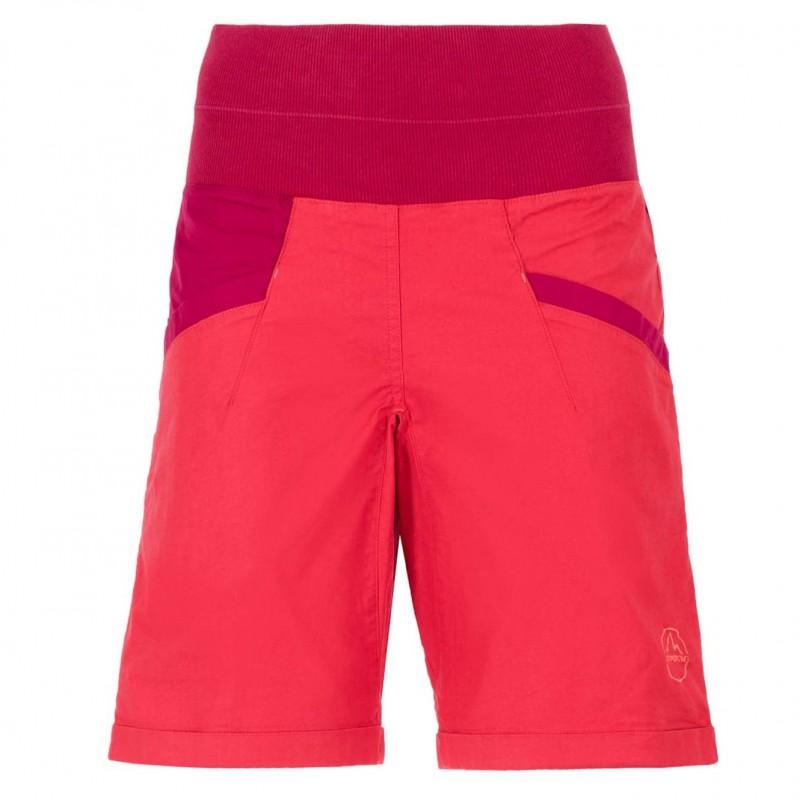 Dámské lezecké šortky La Sportiva Ramp Garnet red