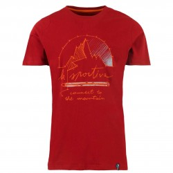 Men climbing T-shirt Connect