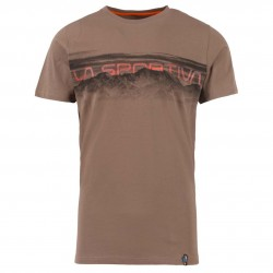 Men climbing T-shirt Landscape