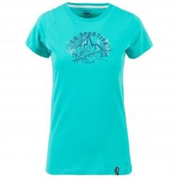 Women climbing T-shirt Hipster