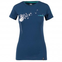 Women climbing T-shirt Windy