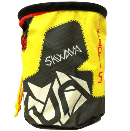 Pytlík na magnesium La Sportiva Skwama Žlutá