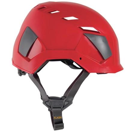 Pracovní helma Singing rock Flash aero Červená
