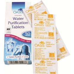 Tablets for water purification