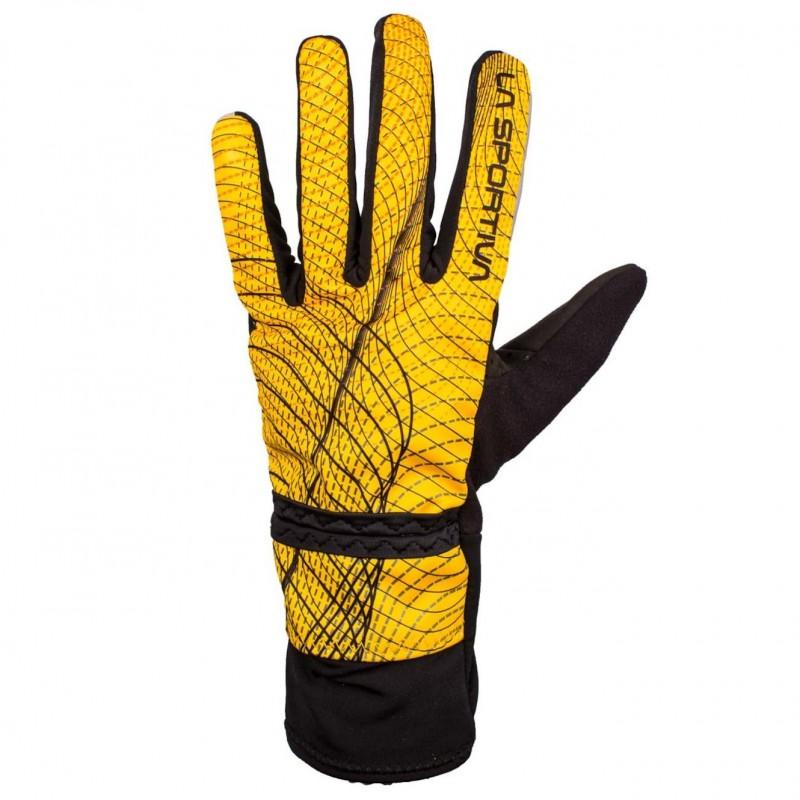 Pánské rukavice La Sportiva Winter running Žlutá